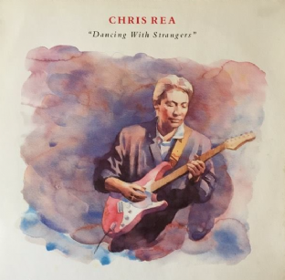 Chris Rea ‎- Dancing With Strangers (LP) (EX+/G+)